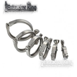Single Hinged Triclamp Clamp