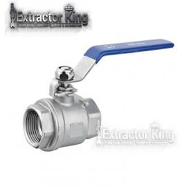 """2pcs 1/4"""" female mini ball valve"""