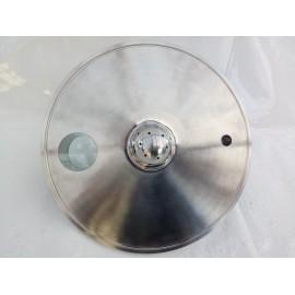 "8"" x (1) 1/4"" FNPT x (1) 1/4"" MNPT 1 Sight Glass x (1) Spray Ball"