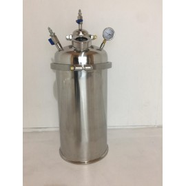 30LB Stainless Steel Solvent Recovery Tank
