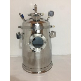 50LB Stainless Steel Solvent Recovery Tank