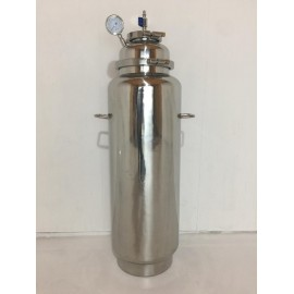 100LB Stainless Steel Solvent Recovery Tank