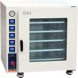 Ai 7.5 CF 480°F Vacuum Oven w/5 Sided Heat & SST Tubing-Valves