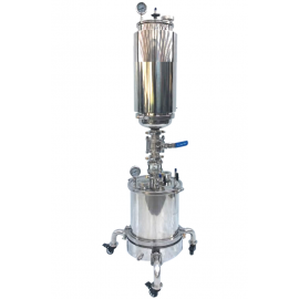8LB Closed Loop Extractor Passive-Active w/ Fully Jacketed Platter & Wheels