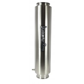 """8"""" Tri-Clamp Dewaxer Column from 18"""" to 48"""" in length"""