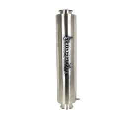 """6"""" Tri-Clamp Dewaxer Column from 18"""" to 48"""" in length"""