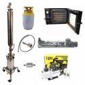 2.5LB Turn Key Closed Loop Extractor Setup w/ Vacuum Oven, Pump & Fully Jacketed Platter W/Wheels