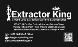 Extractor King Business Card