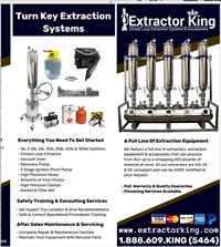 Extractor King Brochure