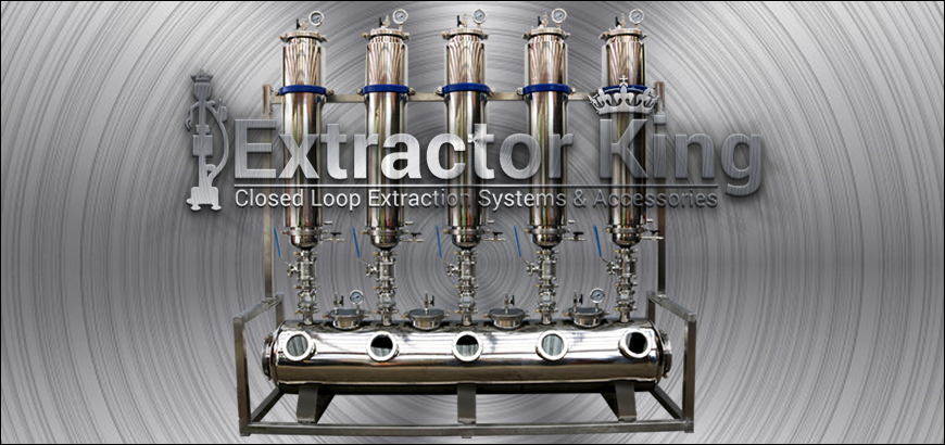 Extractor King Closed Loop Extractor Systems